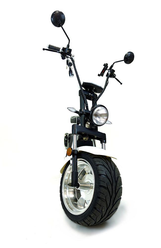 Citi Tschopper 1500Gt Elektro Scooter Elektro Roller weiss Bild 1
