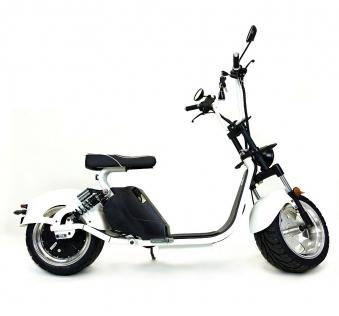 Citi Tschopper 1500Gt Elektro Scooter Elektro Roller weiss Bild 2