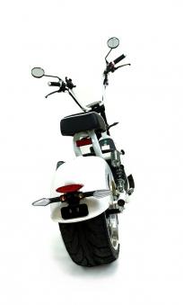 Citi Tschopper 1500Gt Elektro Scooter Elektro Roller weiss Bild 3