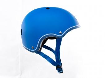 Skateboarder Helm / Skater Helm Globber Junior blau Größe 51-54cm