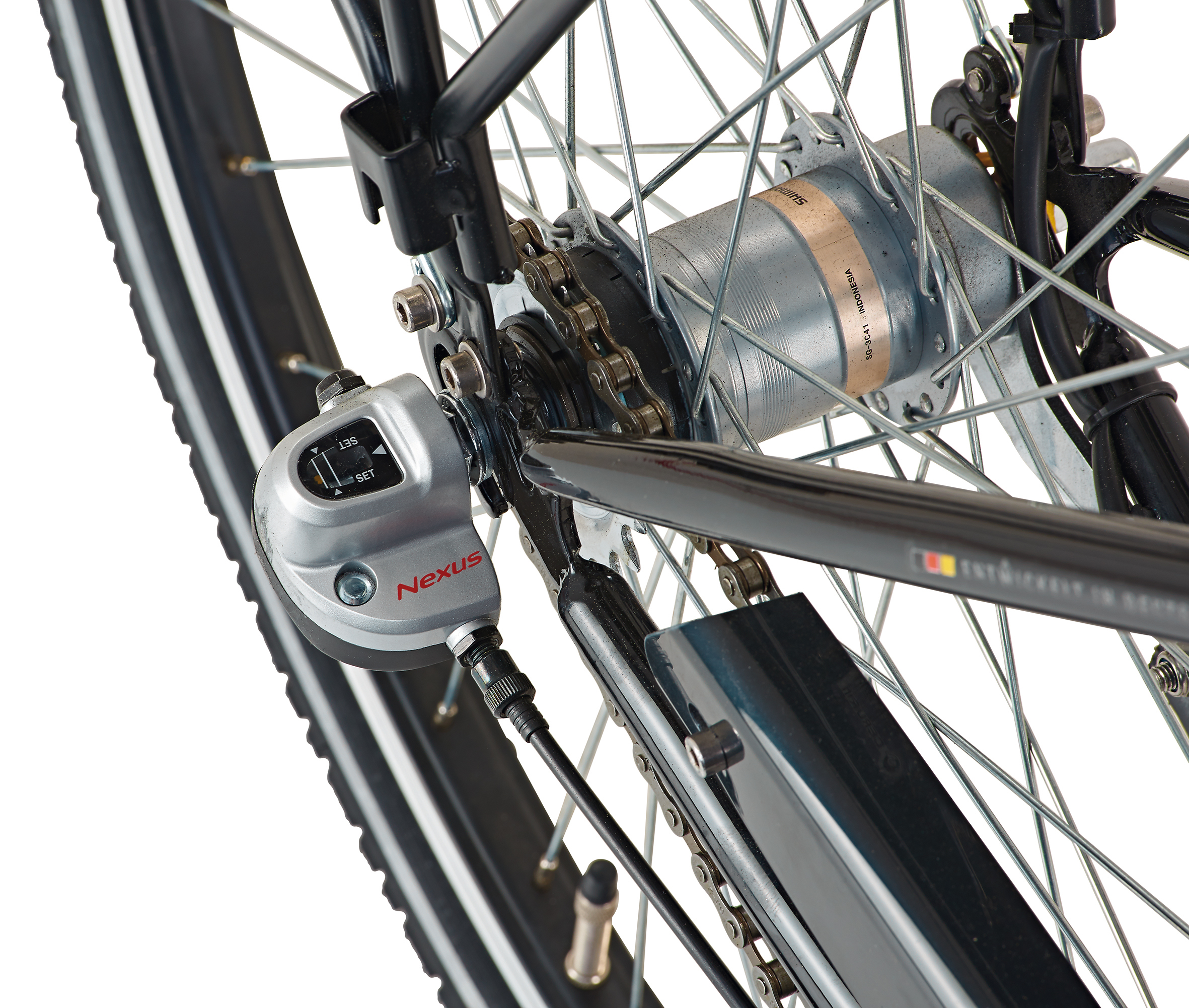 "Prophete Fahrrad / Cityrad Geniesser 9.4 City Bike 26"" Tiefeinstieg Bild 4"