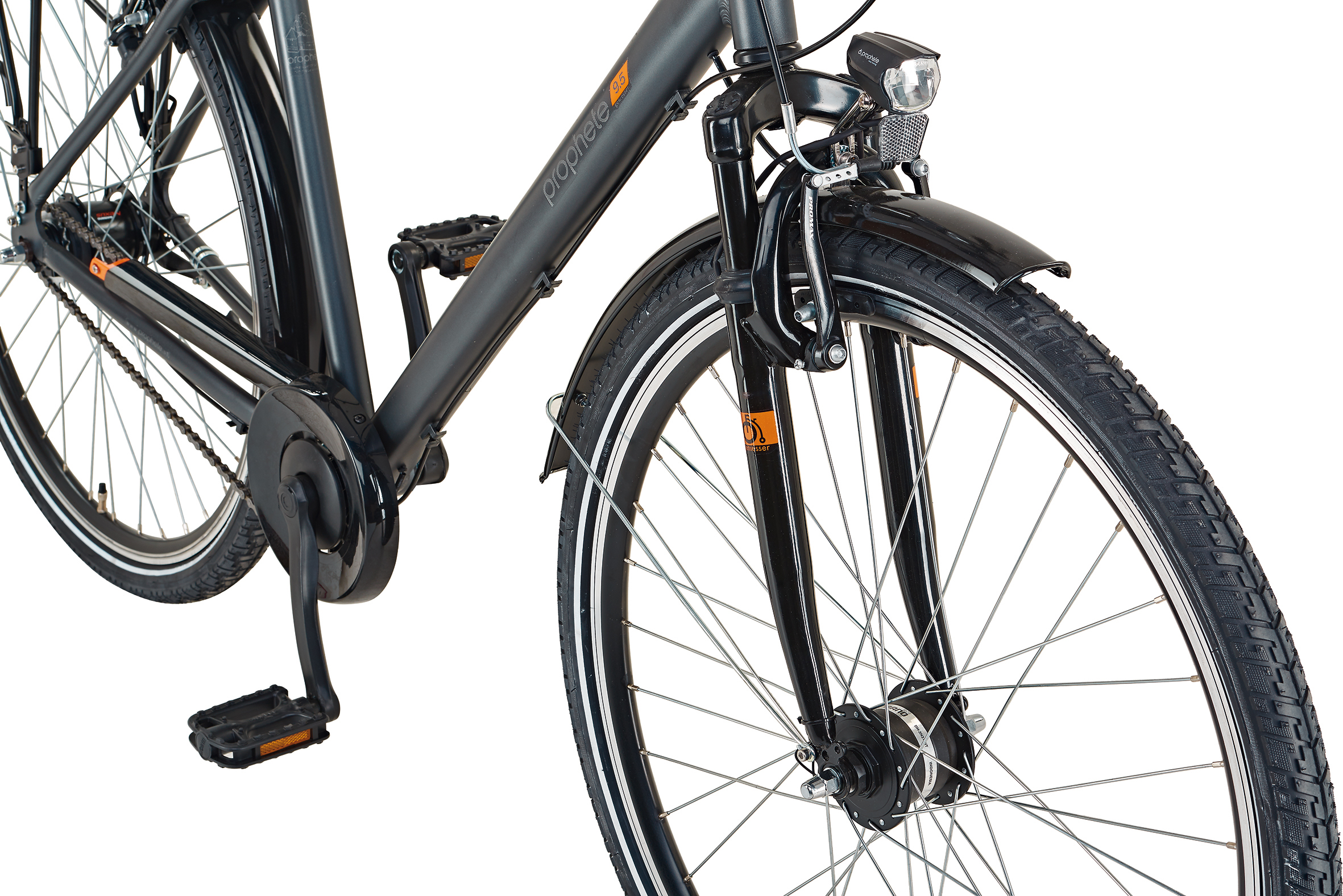 "Prophete Fahrrad / Cityrad Geniesser 9.5 City Bike 28"" Damen Bild 3"