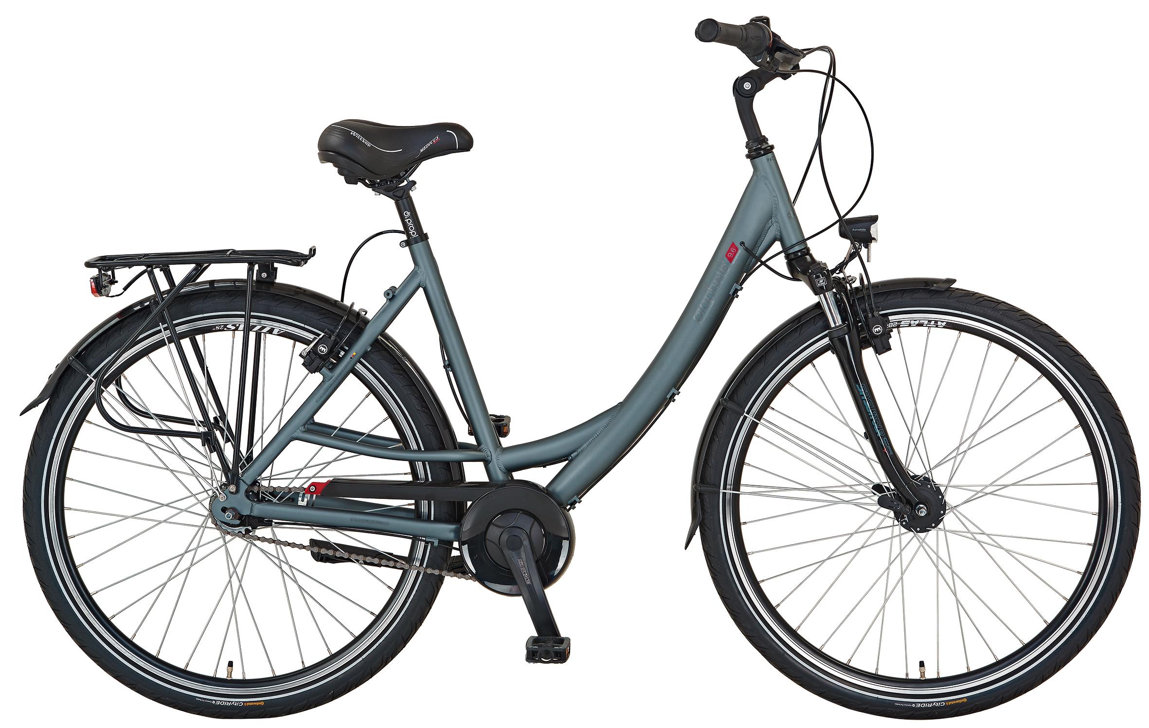 prophete fahrrad cityrad geniesser 9 6 city bike 28. Black Bedroom Furniture Sets. Home Design Ideas