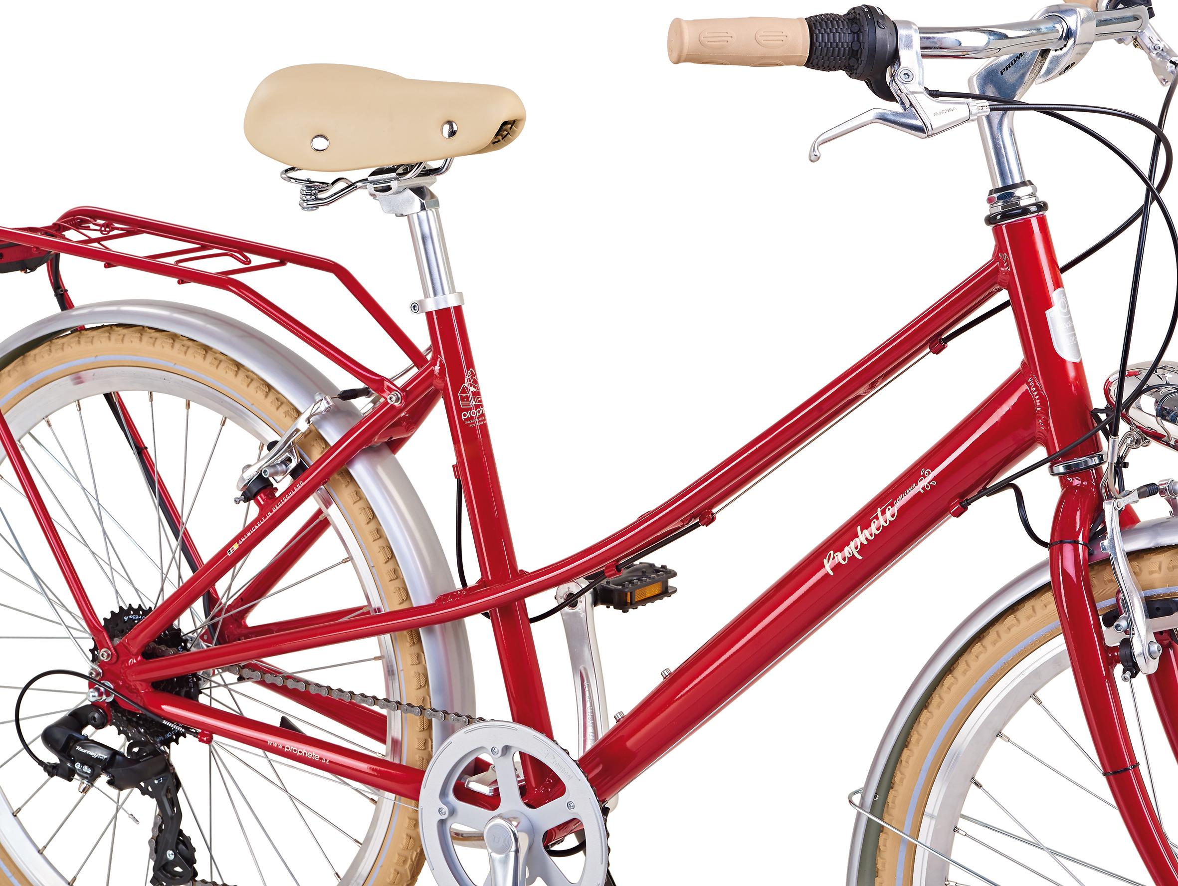 "Prophete Fahrrad / Cityrad Geniesser Retro City Bike 26"" Damen Bild 3"