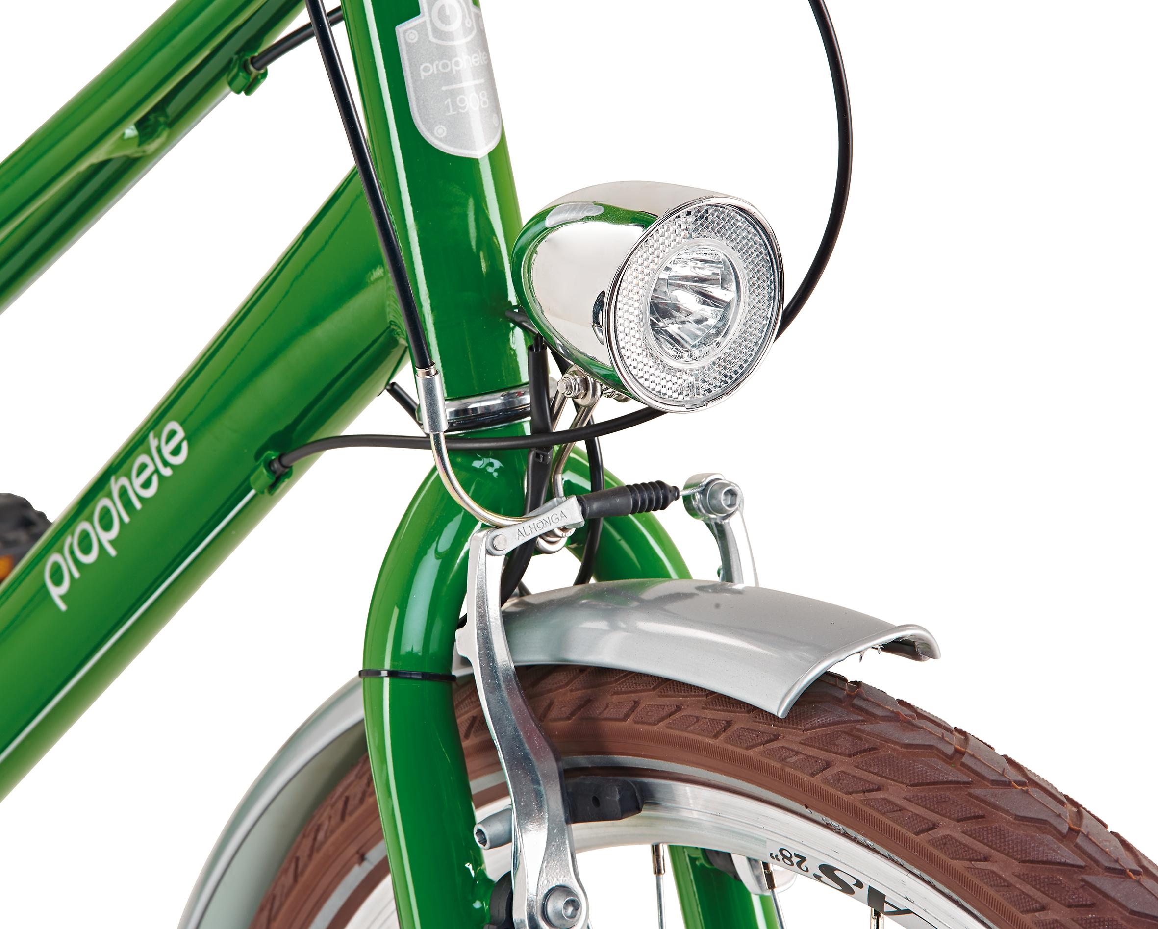 "Prophete Fahrrad / Cityrad Geniesser Retro City Bike 28"" Damen Bild 6"