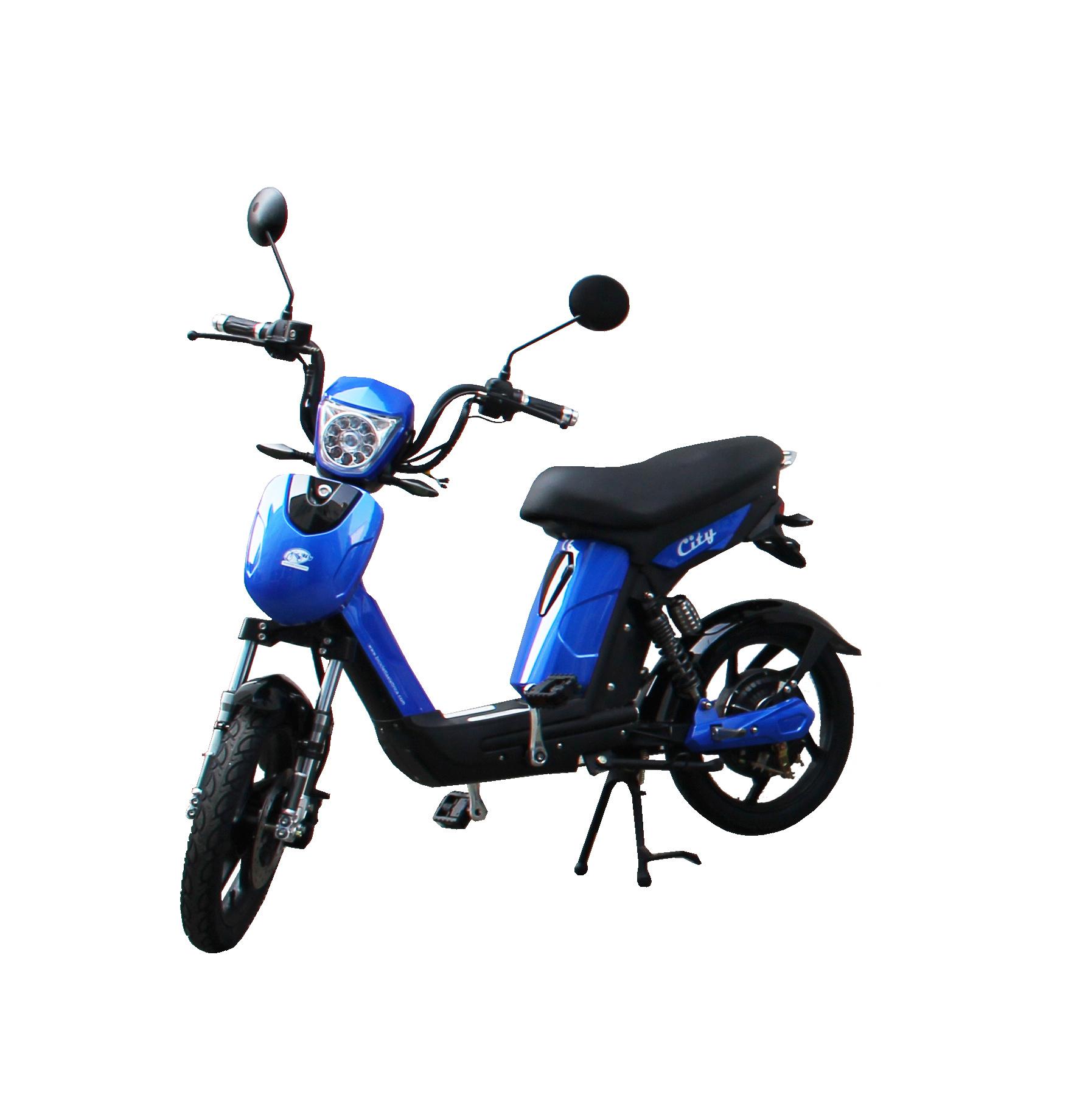 Bici City E-Bike / E-Fahrrad / Elektrofahrrad blau Bild 1