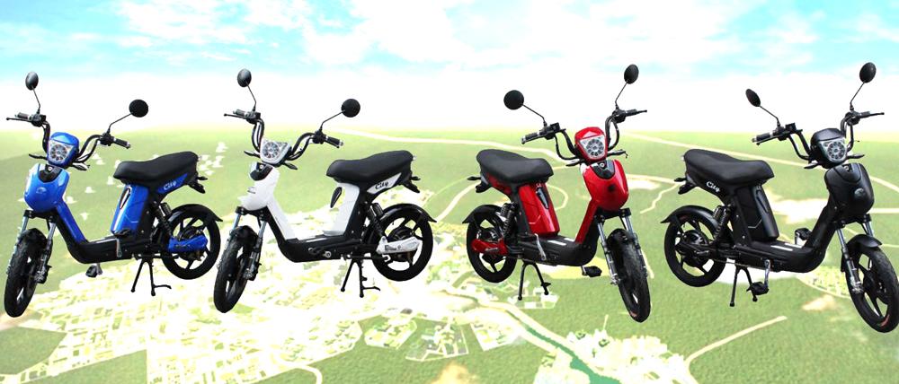 Bici E-Bike / E-Fahrrad Elektrofahrrad City Lithium-Akku schwarz Bild 2