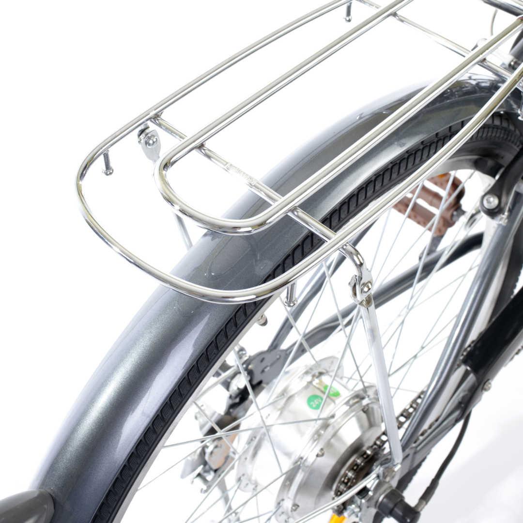 """Bici E-Bike / E-Fahrrad Elektrofahrrad City Power G 26"""" LI-Akku grau Bild 5"""