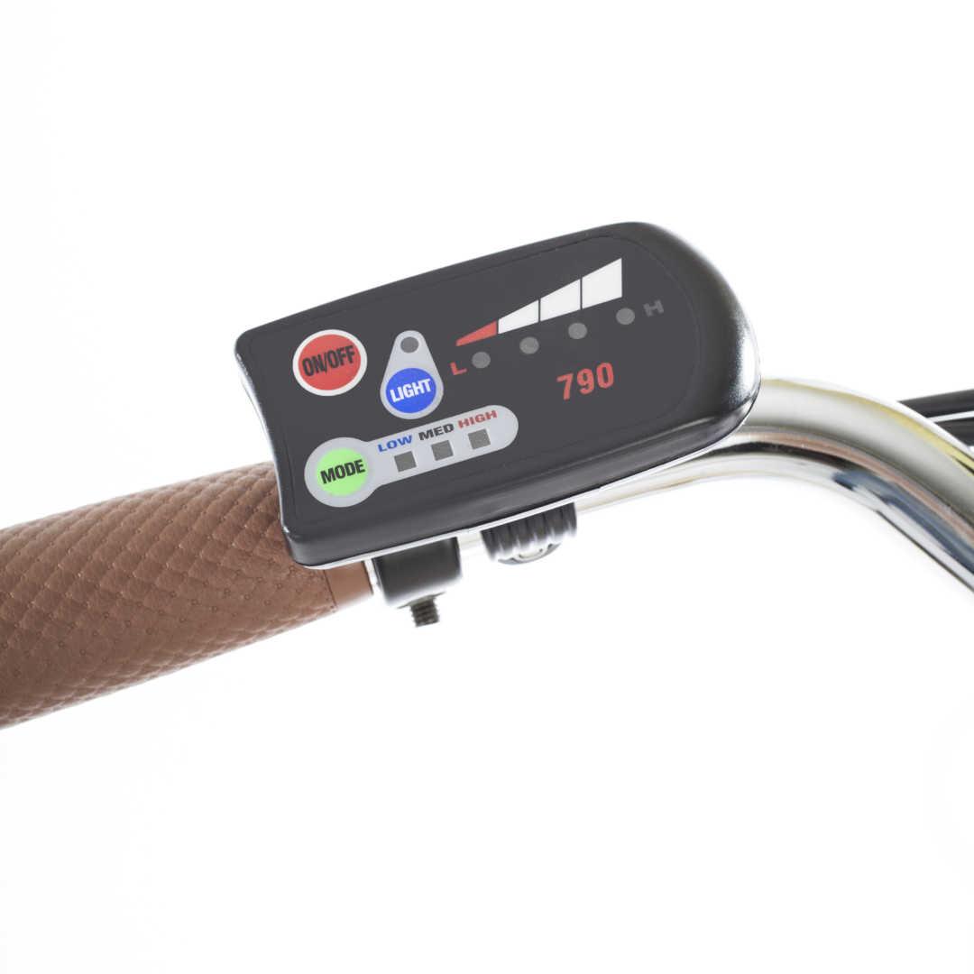"""Bici E-Bike / E-Fahrrad Elektrofahrrad City Power G 26"""" LI-Akku grau Bild 6"""