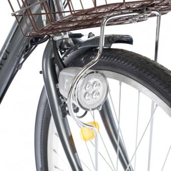 """Bici E-Bike / E-Fahrrad Elektrofahrrad City Power G 26"""" LI-Akku grau Bild 2"""