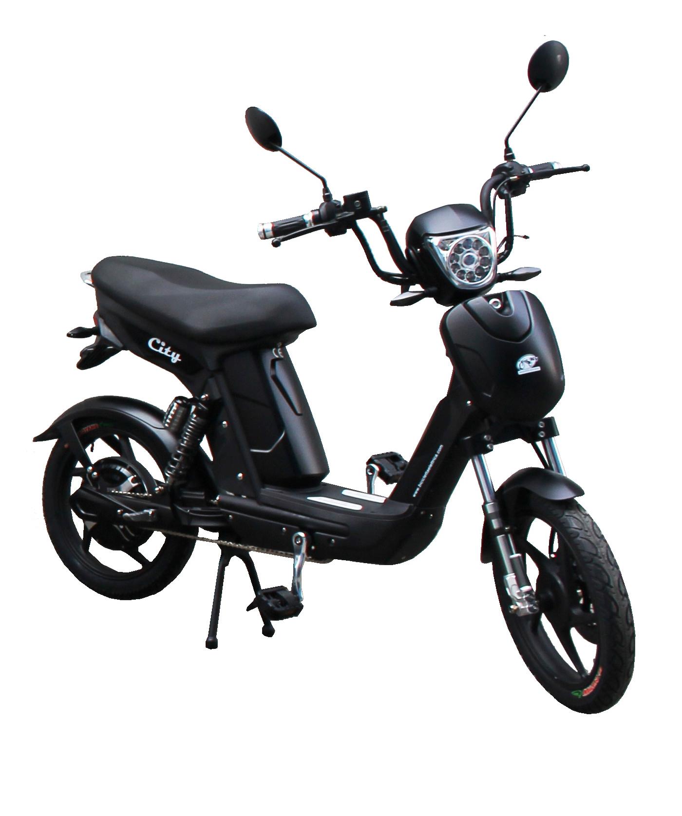 Bici E-Bike / E-Fahrrad / Elektrofahrrad City schwarz Bild 1