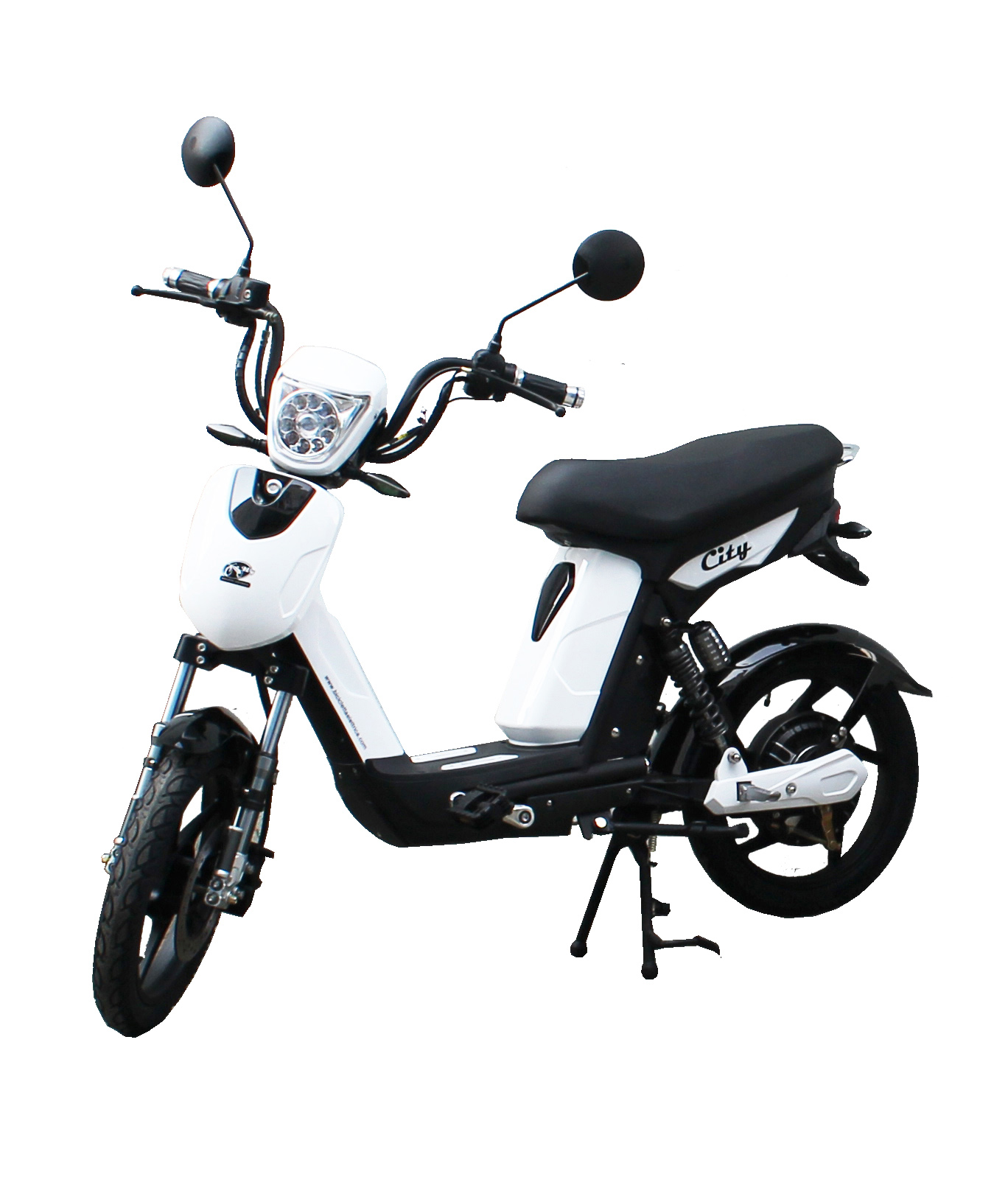 Bici E-Bike / E-Fahrrad Elektrofahrrad City weiß Bild 1