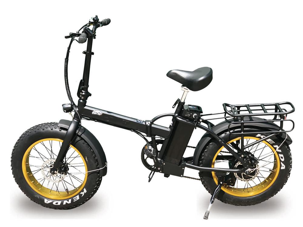Bici Sprint Elektro: Fatbike, Monsterbike Alurahmen, klappbar, faltbar Bild 1