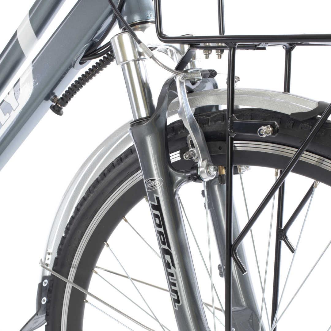 "Butterfly E-Bike / E-Fahrrad / Elektrofahrrad 28"" LI-Akku grau Bild 3"