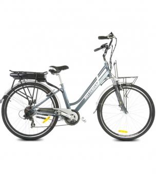 "Butterfly E-Bike / E-Fahrrad / Elektrofahrrad 28"" LI-Akku grau Bild 1"