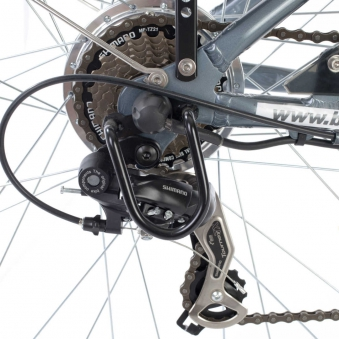 "Butterfly E-Bike / E-Fahrrad / Elektrofahrrad 28"" LI-Akku grau Bild 2"