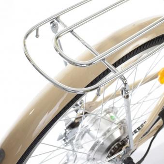 """City Power E-Bike / E-Fahrrad Elektrofahrrad 24"""" LI-Akku beige Bild 5"""