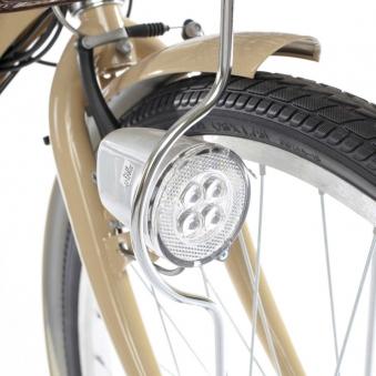 """City Power E-Bike / E-Fahrrad Elektrofahrrad 24"""" LI-Akku beige Bild 6"""