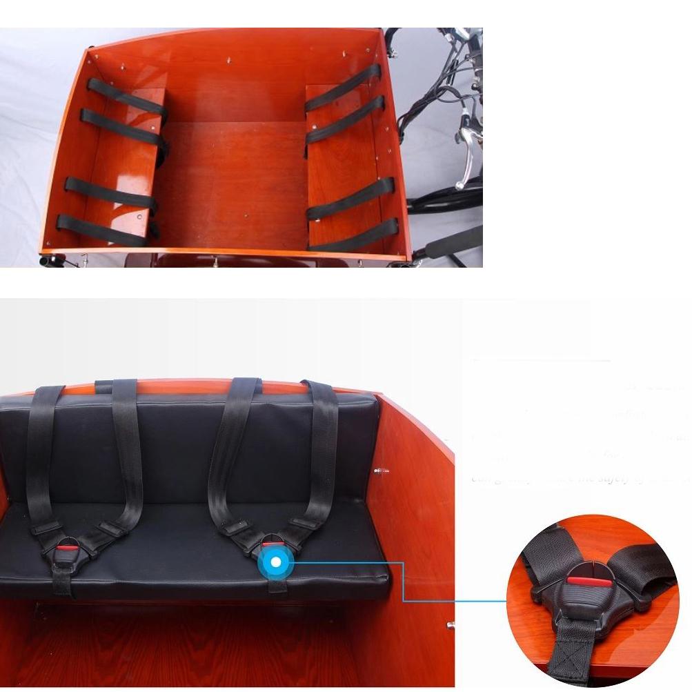"""Elektro Lastenfahrrad E-Lastenrad Transportrad Cargorad Sherpa1 26"""" Bild 3"""