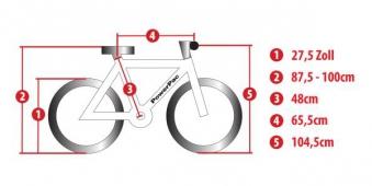 "Powerpac Elektrofahrrad / E-Bike E-Mountainbike 27,5"" Bild 4"