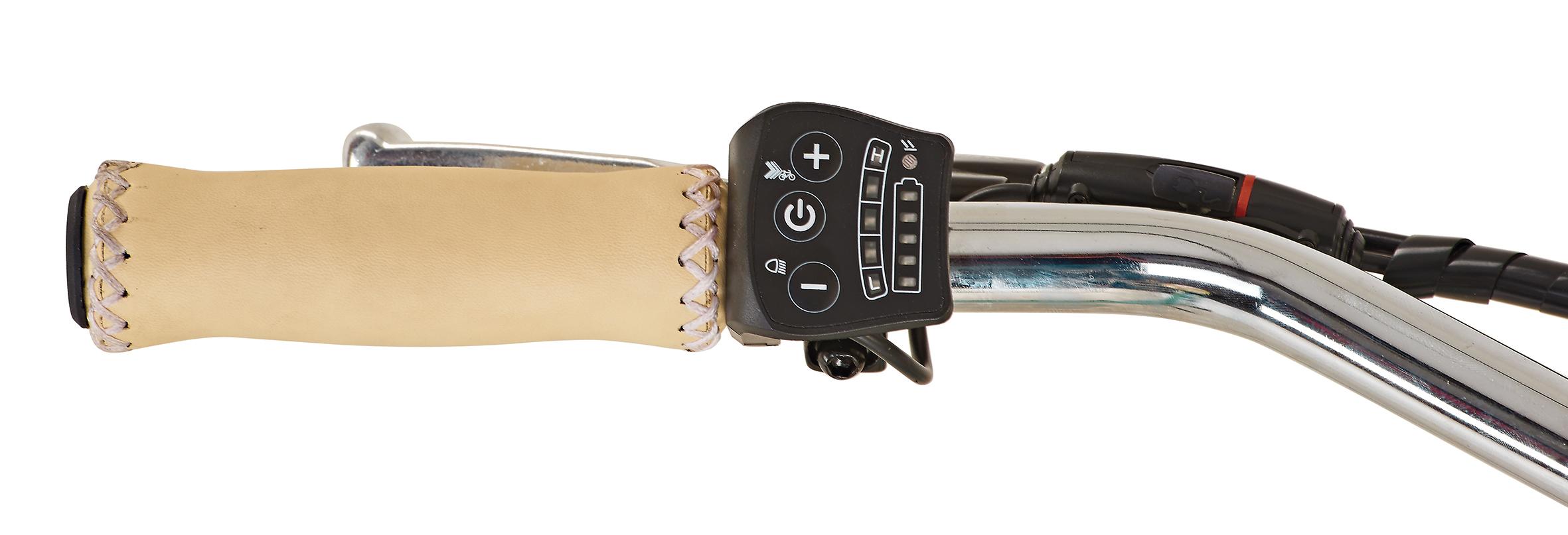 "Prophete Elektrofahrrad / E-Bike Geniesser e9.1 City E-Bike 28"" polar Bild 3"