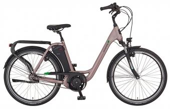 "Prophete Elektrofahrrad / E-Bike Geniesser e9.7 City E-Bike 26"" grau Bild 1"