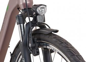 "Prophete Elektrofahrrad / E-Bike Geniesser e9.7 City E-Bike 26"" grau Bild 4"