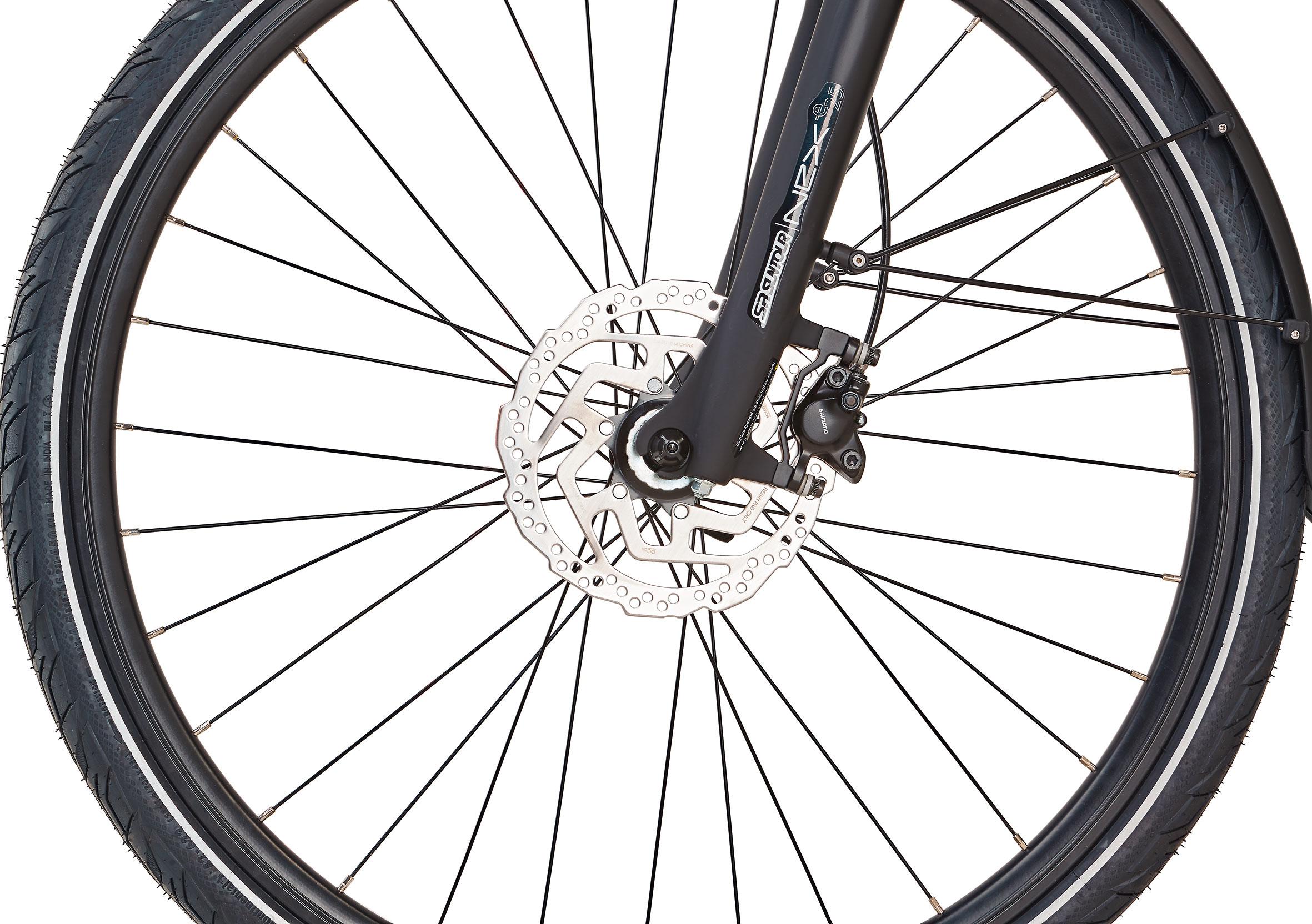 """Prophete Elektrofahrrad / Trekking E-Bike Entdecker Sport 28"""" Damen Bild 3"""