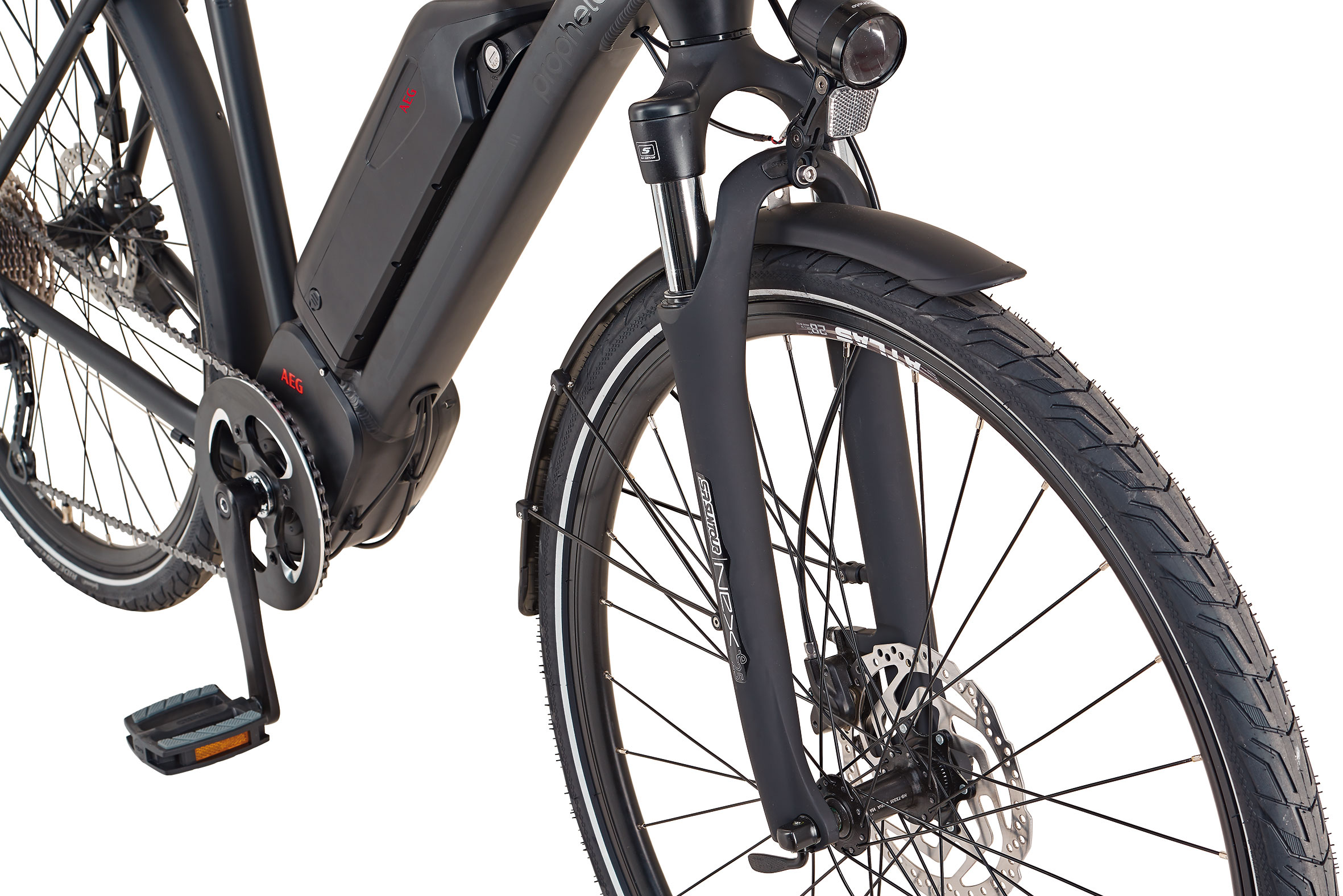 """Prophete Elektrofahrrad / Trekking E-Bike Entdecker Sport 28"""" Herren Bild 4"""