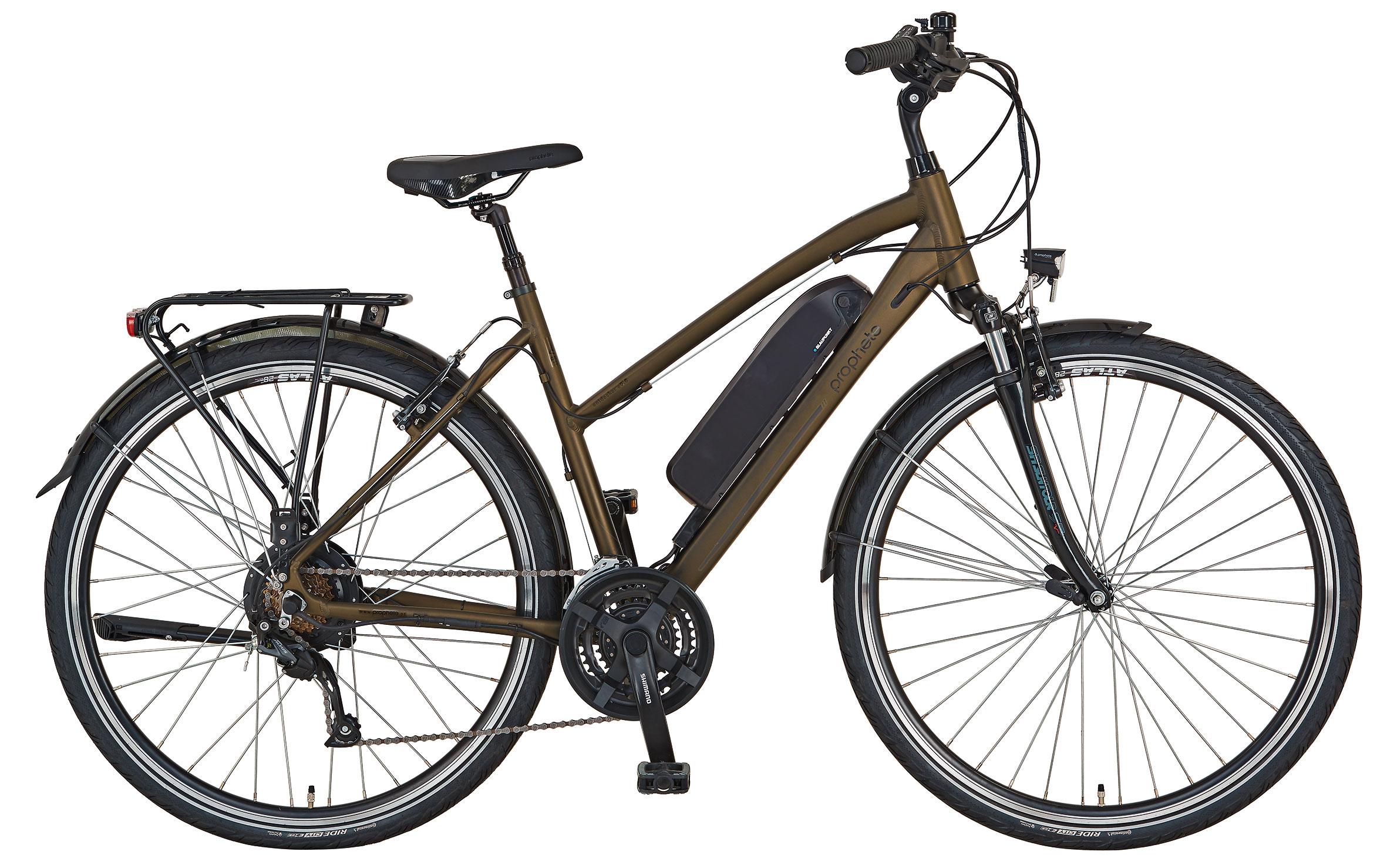 """Prophete Elektrofahrrad / Trekking E-Bike Entdecker e9.6 28"""" Damen Bild 1"""