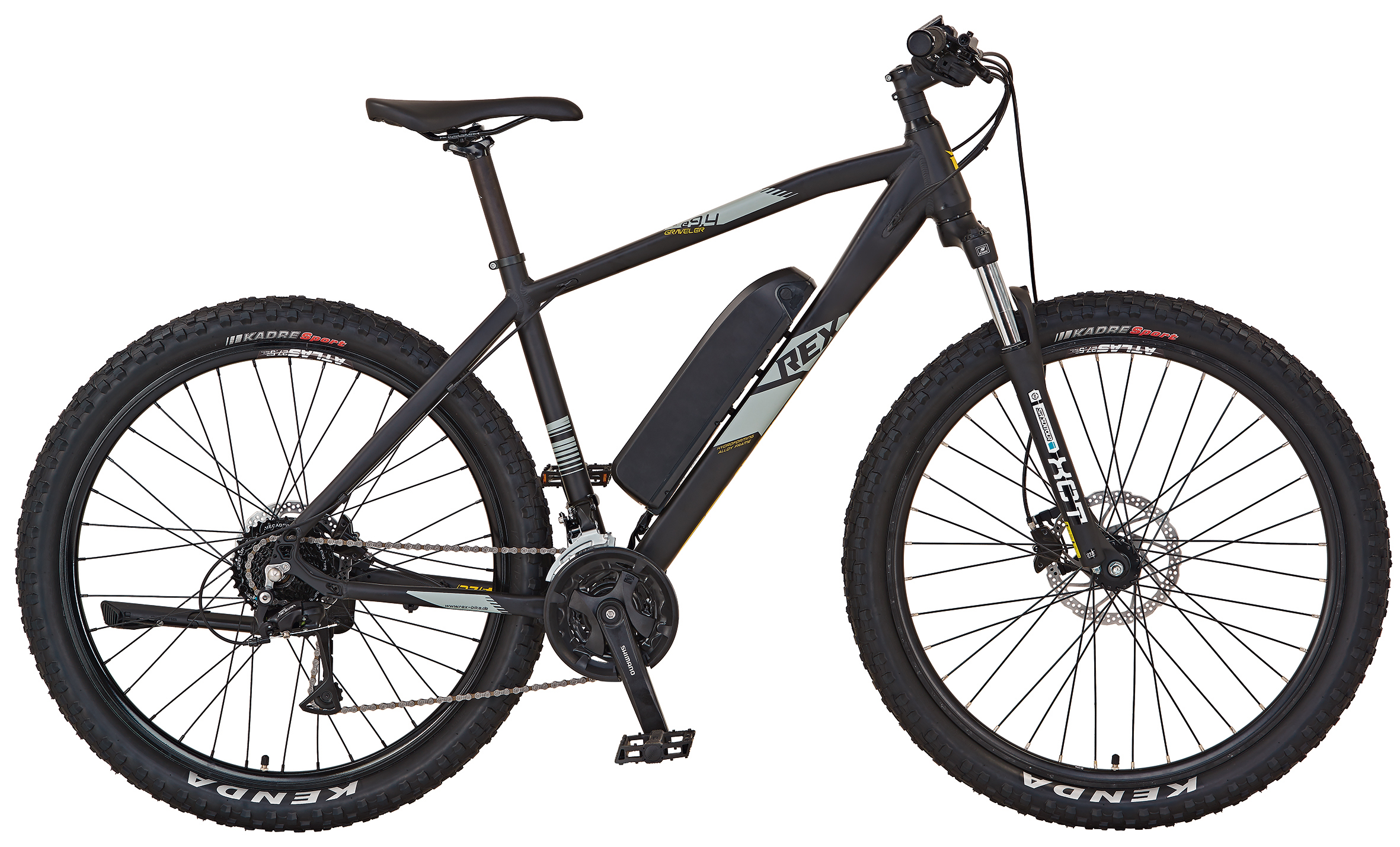 "Rex Bike Elektrofahrrad / E-Mountainbike Graveler e9.4 E-MTB 27,5"" Bild 1"