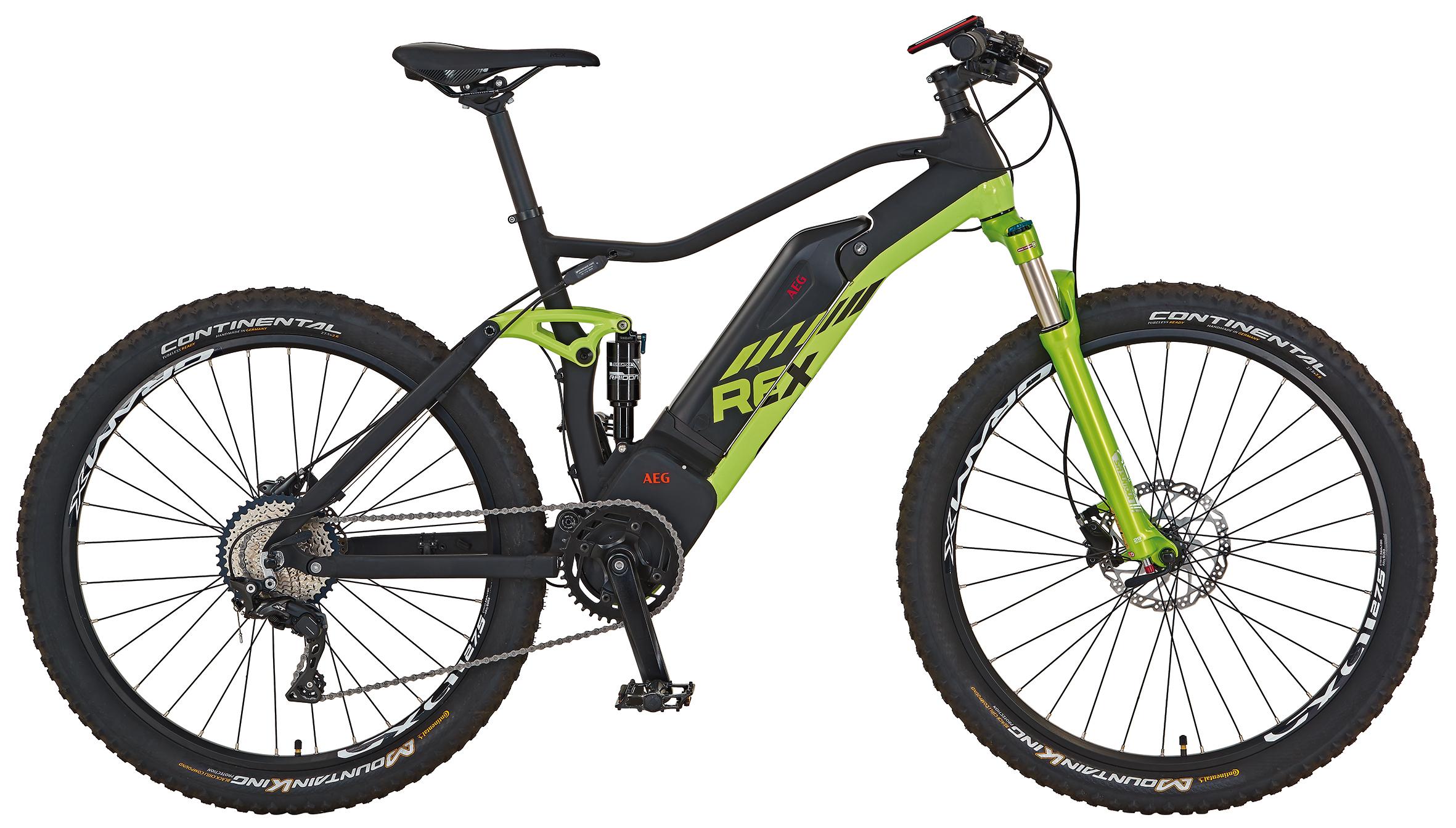 "Rex Bike Elektrofahrrad / E-Mountainbike Graveler e9.9 E-MTB 27,5"" Bild 1"