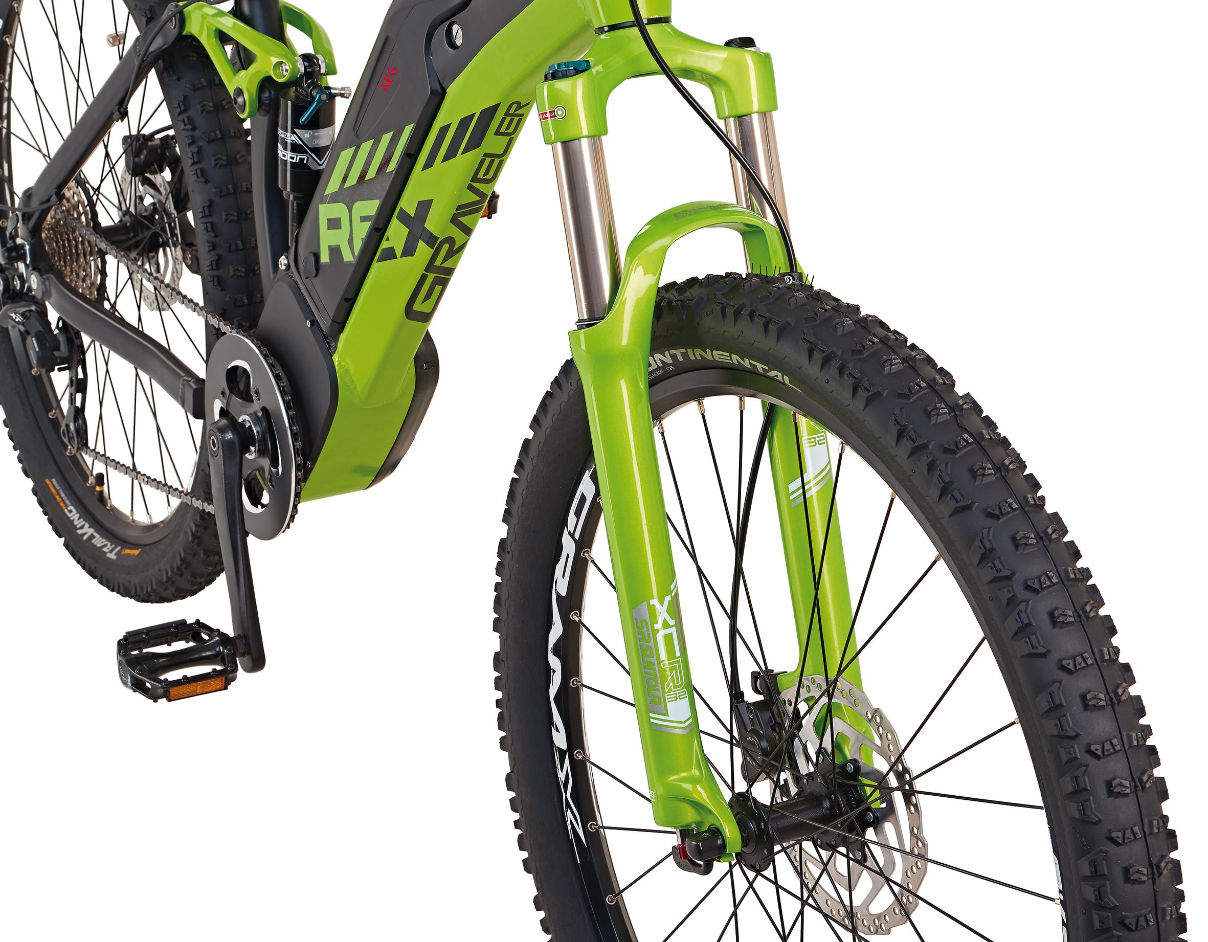 "Rex Bike Elektrofahrrad / E-Mountainbike Graveler e9.9 E-MTB 27,5"" Bild 4"