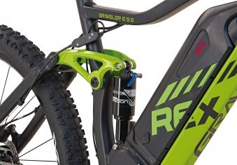 "Rex Bike Elektrofahrrad / E-Mountainbike Graveler e9.9 E-MTB 27,5"" Bild 3"