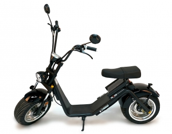 Citi Cruiser Elektro Scooter Chopper City-Scooter schwarz glänzend Bild 9