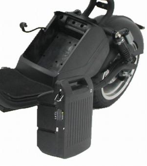 Akkupack / Ersatzbatterie für mehr Scooter Chopper Reichweite 25AH