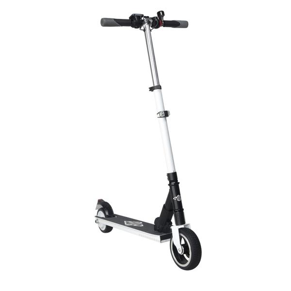 Elektro Scooter Elektroroller E-Scooter FW101 weiß/schwarz klappbar Bild 1