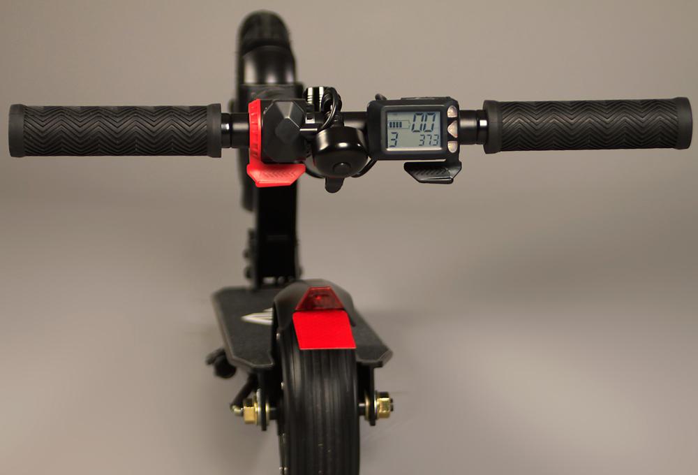 Elektro Scooter Elektroroller E-Scooter FW101 weiß/schwarz klappbar Bild 3
