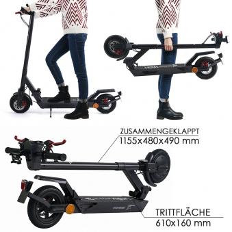 Elektroscooter Straßenzulassung E-Scooter Velix 20 Bild 2