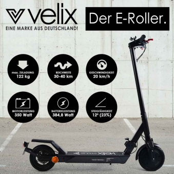 Elektroscooter Straßenzulassung E-Scooter Velix 20 Bild 3