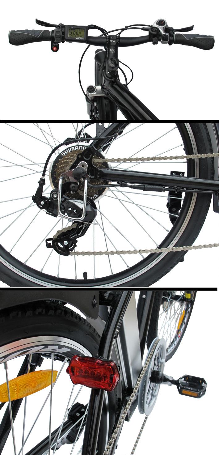 elektrofahrrad e bike 36v powerpac alu mountainbike 26. Black Bedroom Furniture Sets. Home Design Ideas