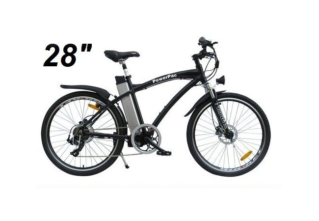 elektrofahrrad e bike 36v powerpac alu mountainbike 28. Black Bedroom Furniture Sets. Home Design Ideas