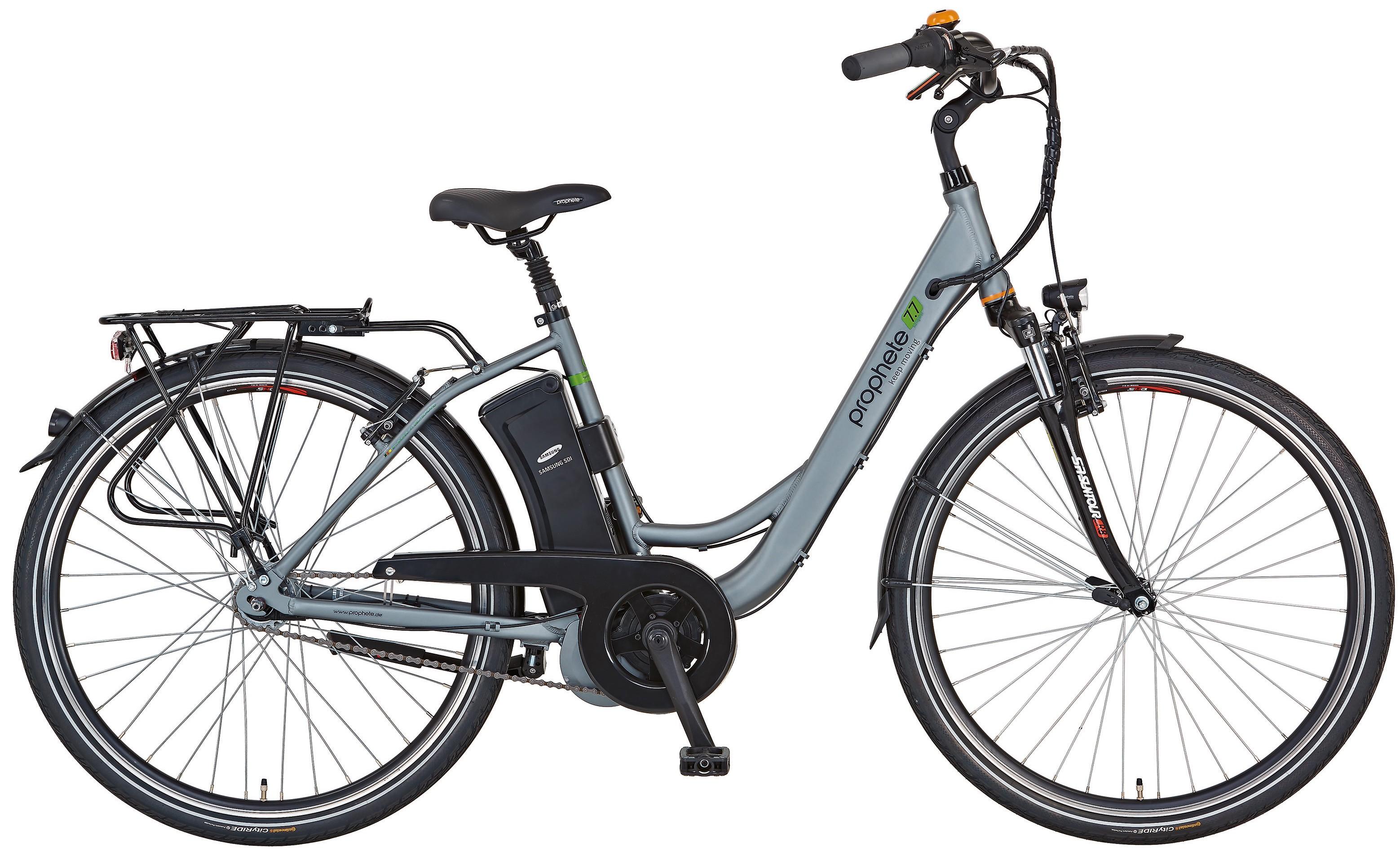 elektrofahrrad e bike damen alu city navigator 7 7 26 prophete bei. Black Bedroom Furniture Sets. Home Design Ideas