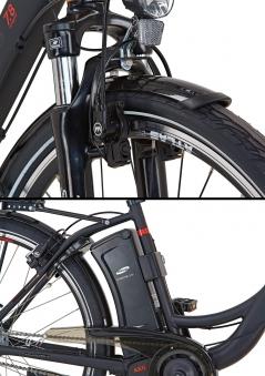elektrofahrrad e bike damen alu city navigator 7 8 28 prophete bei. Black Bedroom Furniture Sets. Home Design Ideas
