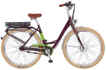 elektrofahrrad e bike damen alu city navigator flair 28 prophete bei. Black Bedroom Furniture Sets. Home Design Ideas