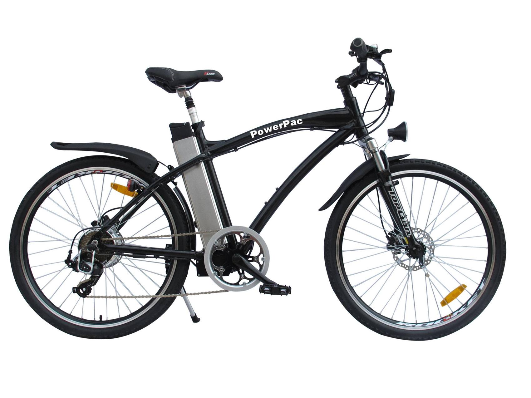 Powerpac Elektrofahrrad / E-Bike 36V Alu Mountainbike 26 Zoll - bei ...