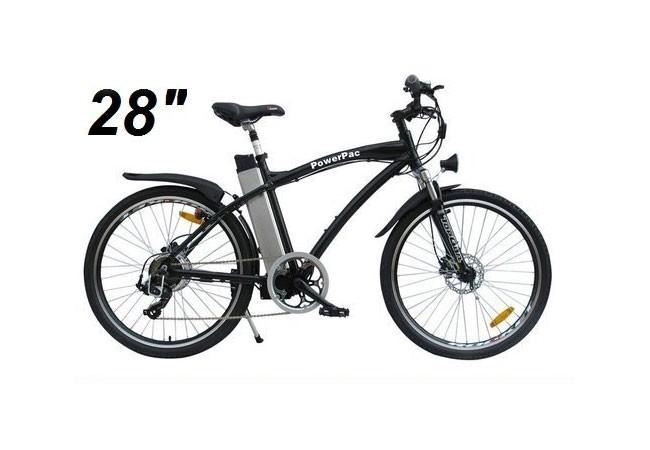 powerpac elektrofahrrad e bike 36v alu mountainbike 28 zoll bei. Black Bedroom Furniture Sets. Home Design Ideas
