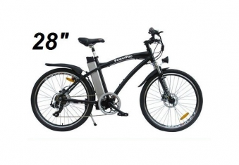 powerpac elektrofahrrad e bike 36v alu mountainbike 28. Black Bedroom Furniture Sets. Home Design Ideas