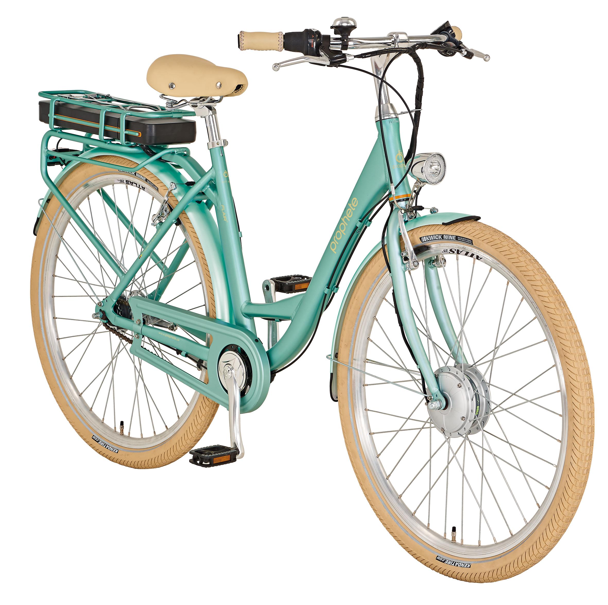 "Prophete Elektrofahrrad / E-Bike Geniesser e9.1 City E-Bike 28"" polar Bild 2"