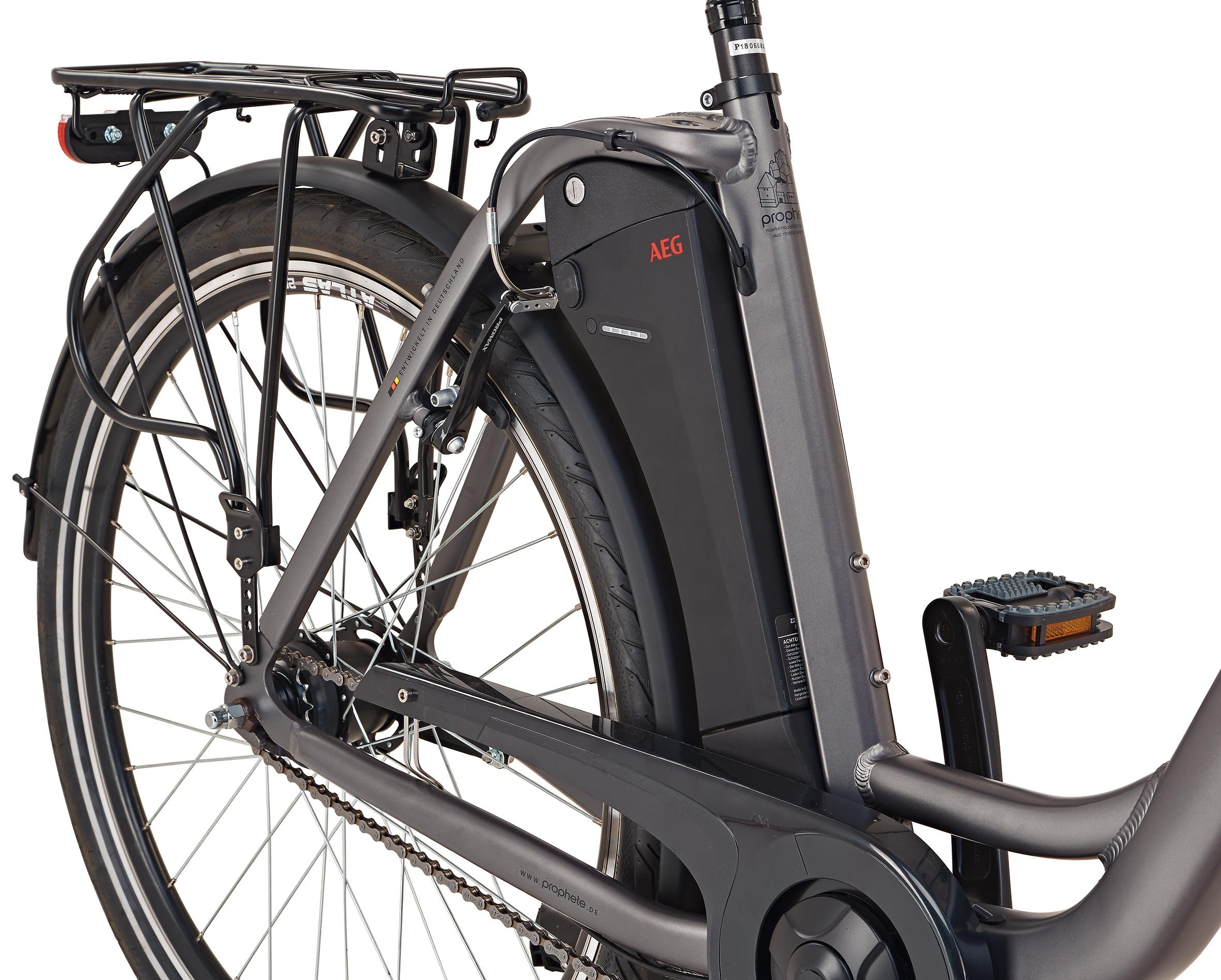 "Prophete Elektrofahrrad / E-Bike Geniesser e9.5 City E-Bike 26"" grau Bild 5"